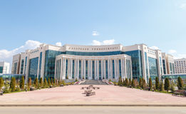 Astana, il Kazakistan - 6 settembre 2016: Università vi di Nazarbayev Immagine Stock Libera da Diritti