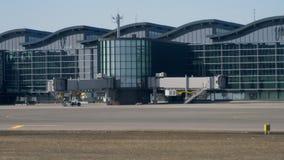 Astana Internationale Luchthaven stock videobeelden