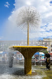 Astana, Kapital von Kazakhstan Stockfotografie