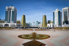 Astana, Kasachstan Stockfoto