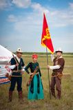 Astana, Kasachstan, am 30. Juni internationales Festival stockbilder