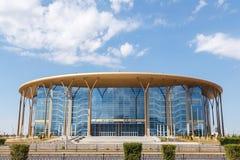 Astana, Kasachstan - 6. September 2016: Barys - Eis-Arena stockbild