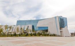 Astana, Kasachstan - 3. September 2016: Natsionalnay-Museum von O stockbilder