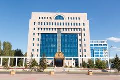 Astana Kasakhstan - September 4, 2016: Den centrala valComen arkivfoto