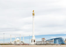Astana Kasakhstan - September 3, 2016: Området av Kasakhstan ` s royaltyfri fotografi