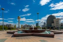 Astana Kazachstan royalty-vrije stock afbeelding