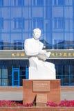 Astana, Kazachstan - September 4, 2016: Monument van S Seifullin Stock Foto