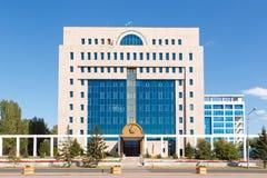 Astana Kazachstan, Wrzesień, - 4, 2016: Środkowy wybory Com Fotografia Royalty Free