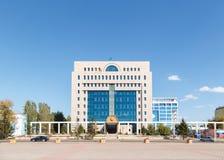 Astana Kazachstan, Wrzesień, - 4, 2016: Środkowy wybory Com Zdjęcia Stock