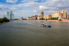 Astana kazakhstan Arkivfoto