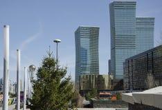 Astana. Kazakhstan. April 17, 2016. Astana. Kazakhstan. April 03. The buildings Astana, Kazakhstan on 17 April, 2016 stock images