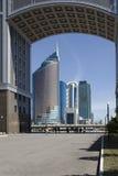 Astana. Kazakhstan. April 17, 2016. Astana. Kazakhstan. April 03. The buildings Astana, Kazakhstan on 17 April, 2016 stock photography