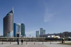 Astana. Kazakhstan. April 17, 2016. The buildings Astana, Kazakhstan on 17 April, 2016 stock images