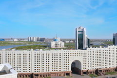 Astana. Kazakhstan. Business and cultural center of the city royalty free stock images