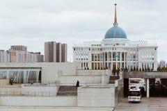 ASTANA, KAZAKHSTAN - SEPTEMBER 13, 2017: Presidential Palace Ako Royalty Free Stock Photography