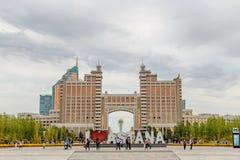 Astana, Kazakhstan - 3 septembre 2016 : Amour Astan de l'inscription I Images libres de droits