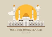 Astana meczet w Astana, Kazachstan Fotografia Stock
