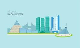Astana miasta budynki 1 Fotografia Stock