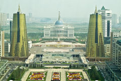 Astana. Municipal landscape Royalty Free Stock Images