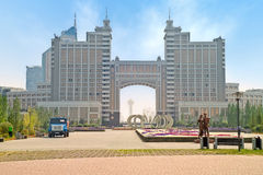 Astana. Municipal landscape Royalty Free Stock Photography