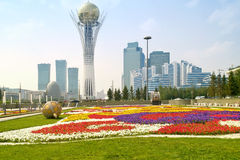 Astana. Municipal landscape Royalty Free Stock Photo