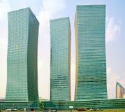 Astana. Paisagem municipal fotografia de stock royalty free