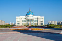 Astana President Palace Royalty Free Stock Image