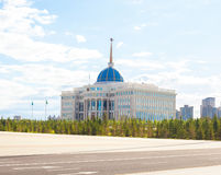 Astana presidentslott arkivfoto