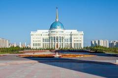 Astana presidentslott royaltyfri bild