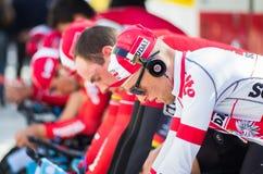 Astana racing team Stock Photo
