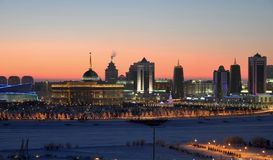 Astana skyline Royalty Free Stock Images