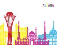 Astana skyline pop Stock Photos