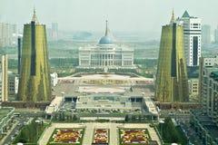 Astana. Städtische Landschaft lizenzfreie stockbilder