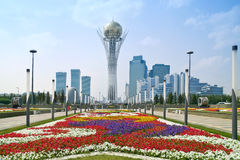 Astana. Städtische Landschaft stockfotos