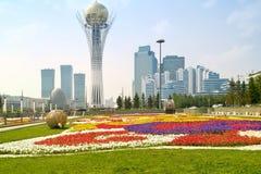 Astana. Städtische Landschaft lizenzfreies stockfoto