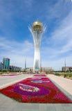 Astana. Symbole de Kazakhstan - Bayterek Photographie stock libre de droits