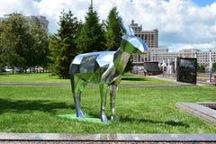 Astana sztuki Fest 2016 Ludzka energia dla expo 2017 w Astana Obrazy Royalty Free