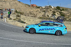 Astana Team Car Stock Photos
