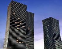 Astana towers Stock Image
