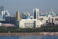 Astana. View of Presidential Palace Royalty Free Stock Photo