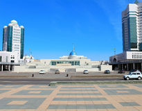 Astana. view on Presidential Palace. Kazakhstan. Stock Images
