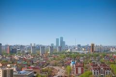 Astana. Vue générale de la ville images libres de droits