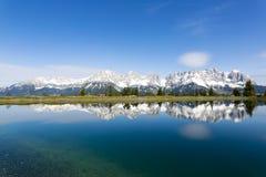 Astbergsee, yendo, Austria Fotografía de archivo