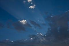 Aste cilindriche di indicatore luminoso fotografia stock libera da diritti