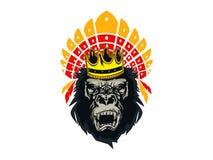 Asteca Kong imagens de stock