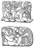 Astecas Fotografia de Stock Royalty Free