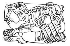 Astecas Imagens de Stock Royalty Free