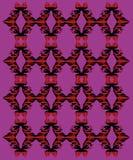 Astecas exóticos do roxo dos ornamento do projeto Fotografia de Stock