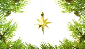 Asterisk cristmas Royalty Free Stock Image