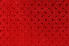 Asterisks on red background. Royalty Free Stock Photography